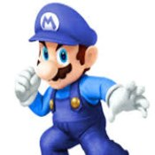Blue Mario Bros 3